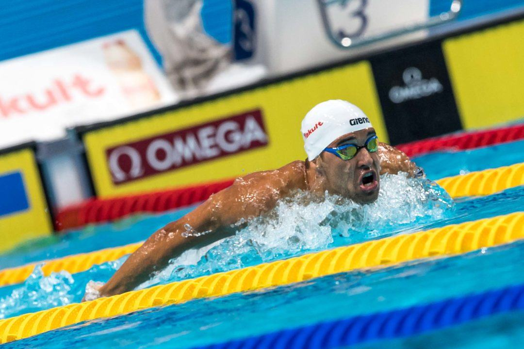 Race Video: Watch Chad Le Clos Battle Laszlo Cseh in Budapest 200 Fly Final