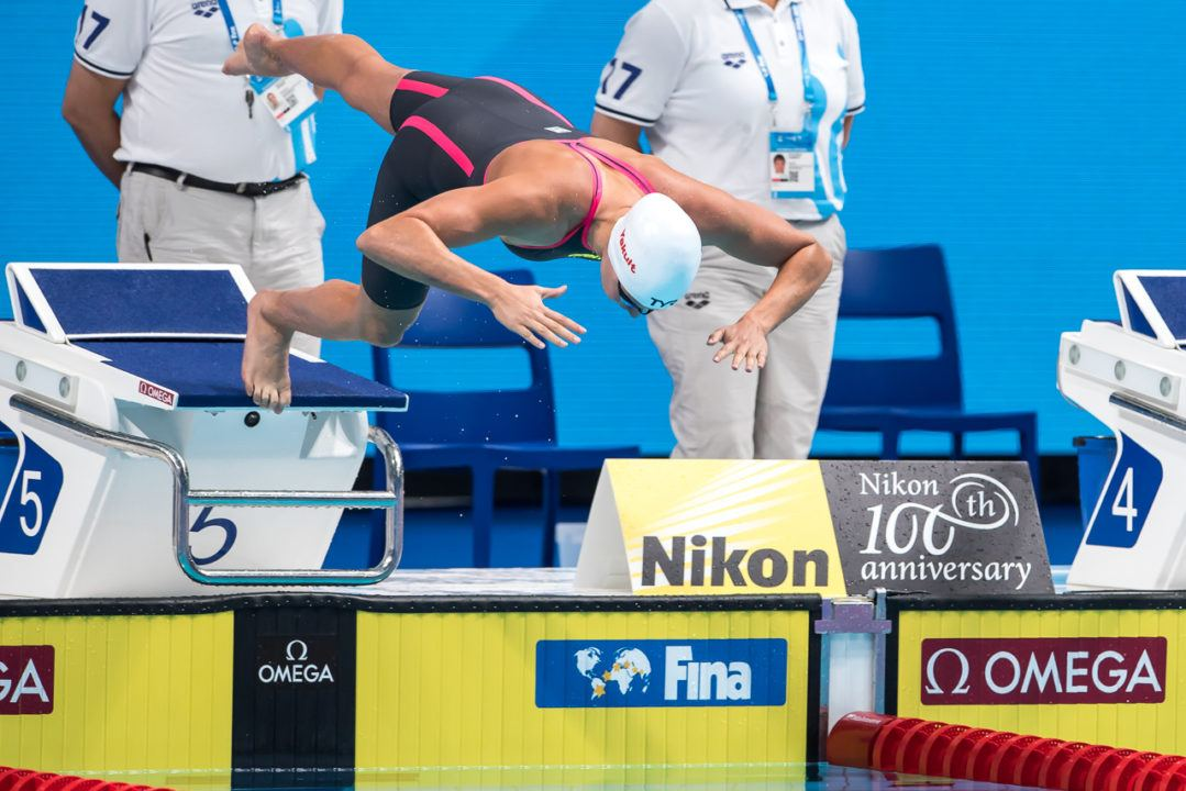 2 National Records for Charlotte Bonnet on Day 1 of French SC Nats