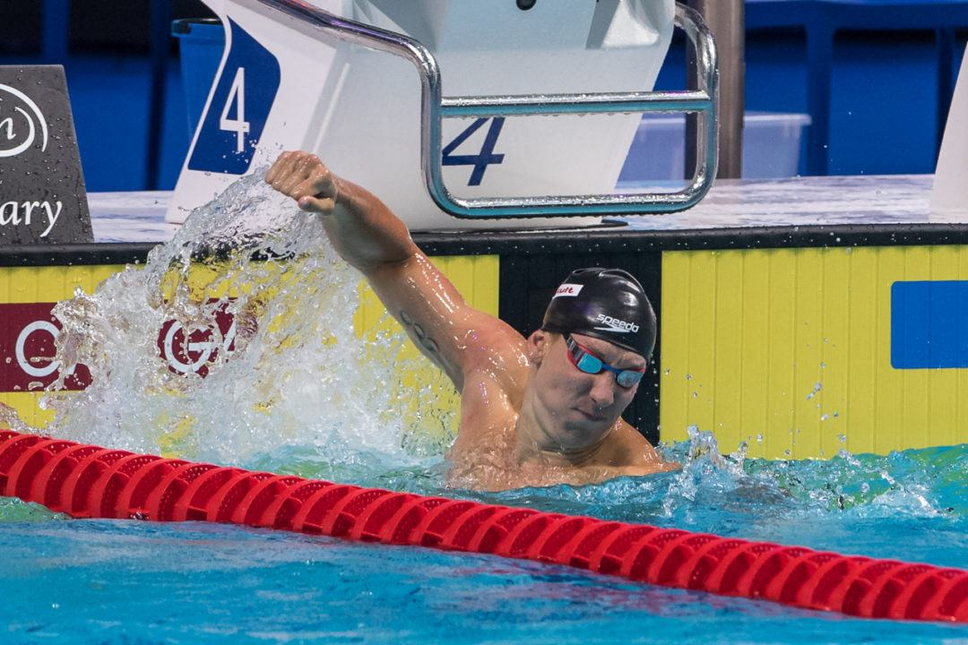 Kalisz Erases Phelps' Championship Record with 4:05.9 to win 400 IM