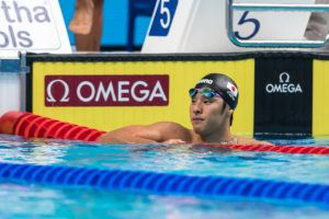 Daiya Seto Casually Posts 54.6 SCM 100 IM In 3-Lane Pool