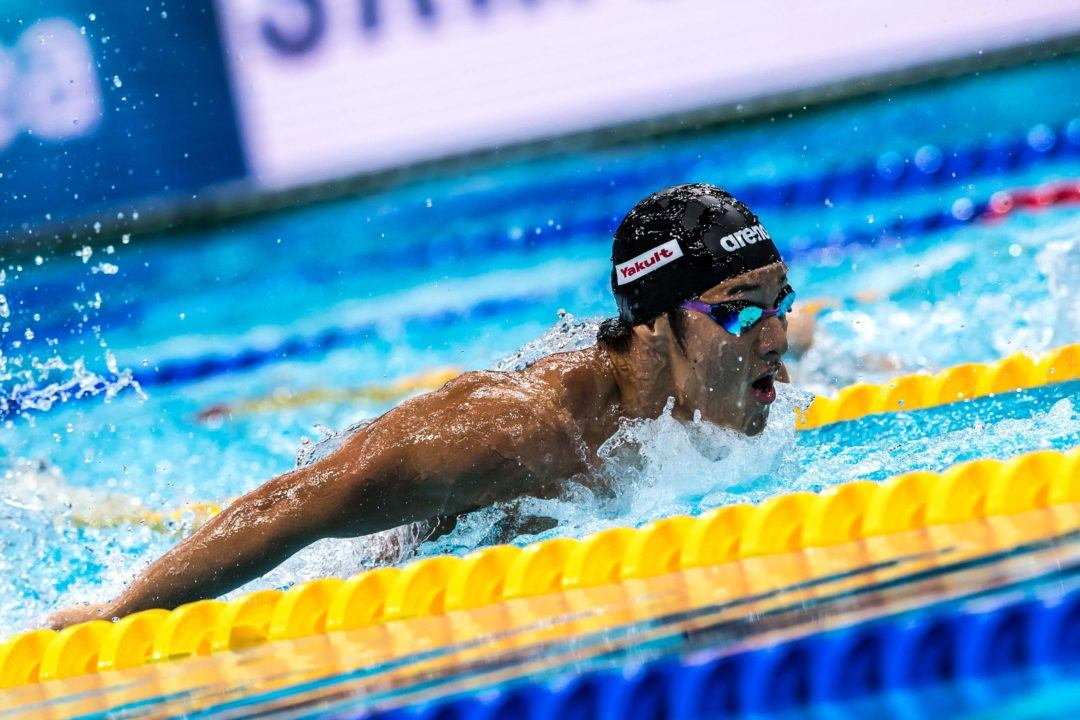 Daiya Seto Sets New Asian Record in 200 Butterfly