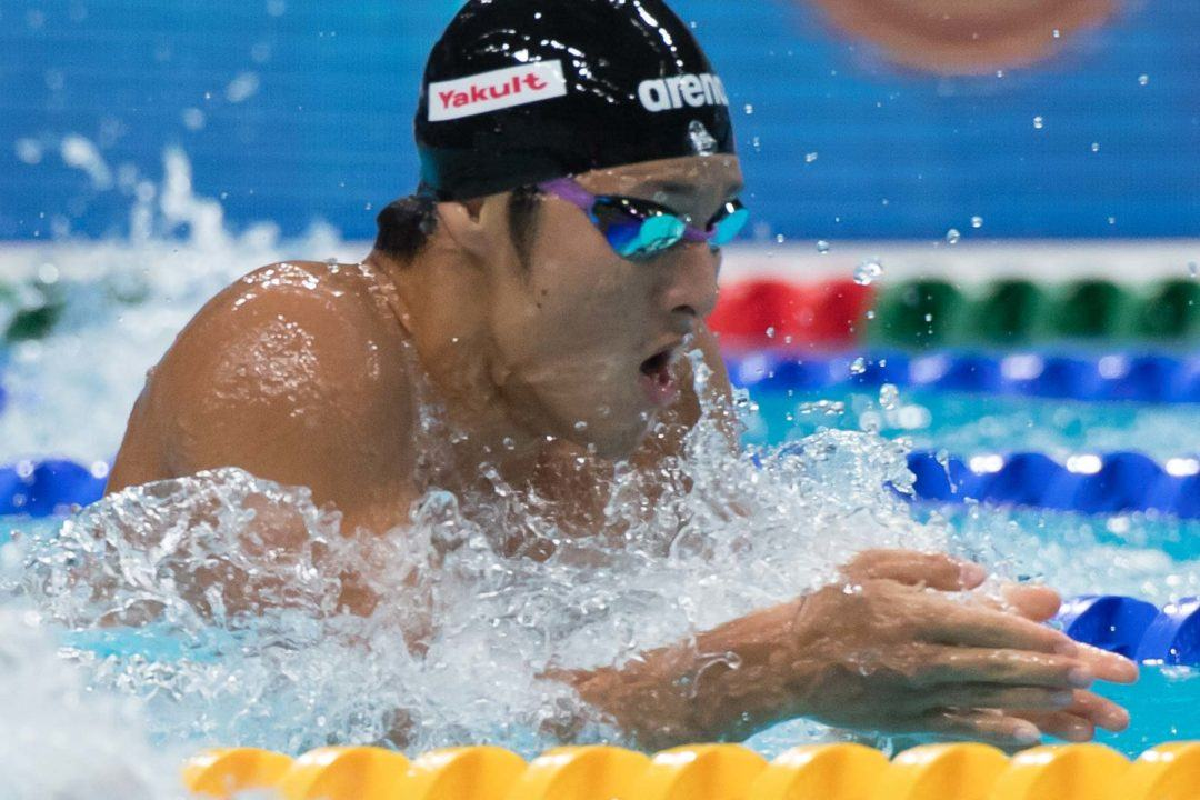 Daiya Seto Comes Within .03 Of Lochte's SCM 400 IM World Record