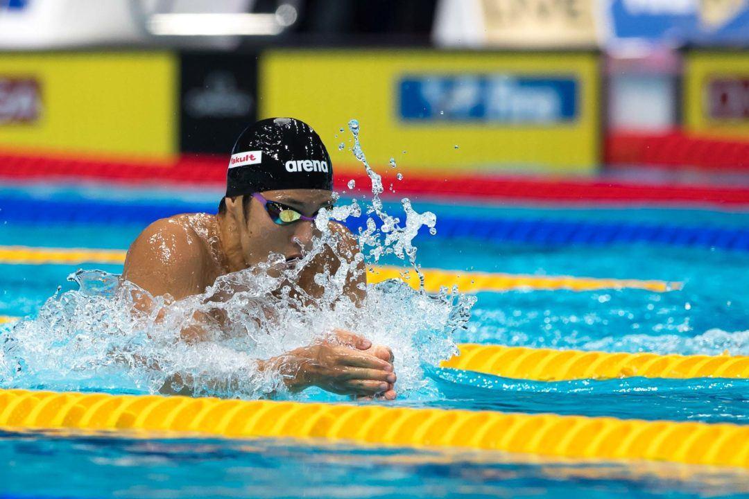200 Fly World Record Holder Daiya Seto Hits 59.79 100 Breast PB