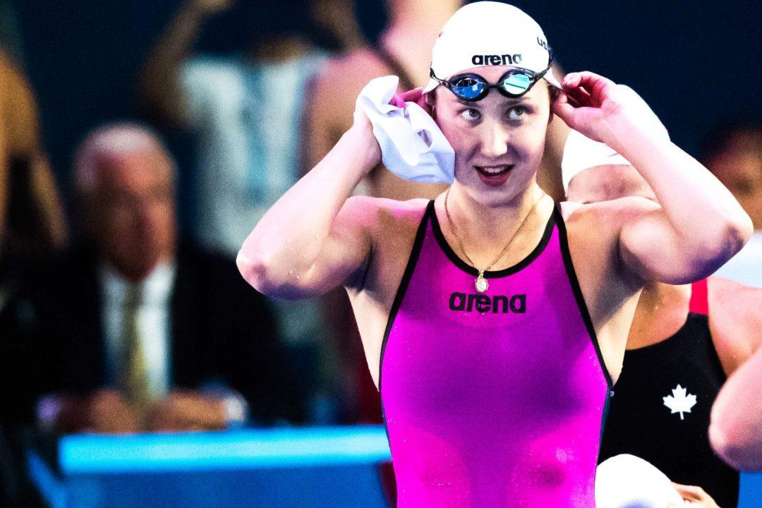 Surkova's Russian Record Highlights Day 3 Of Russian SC Nationals
