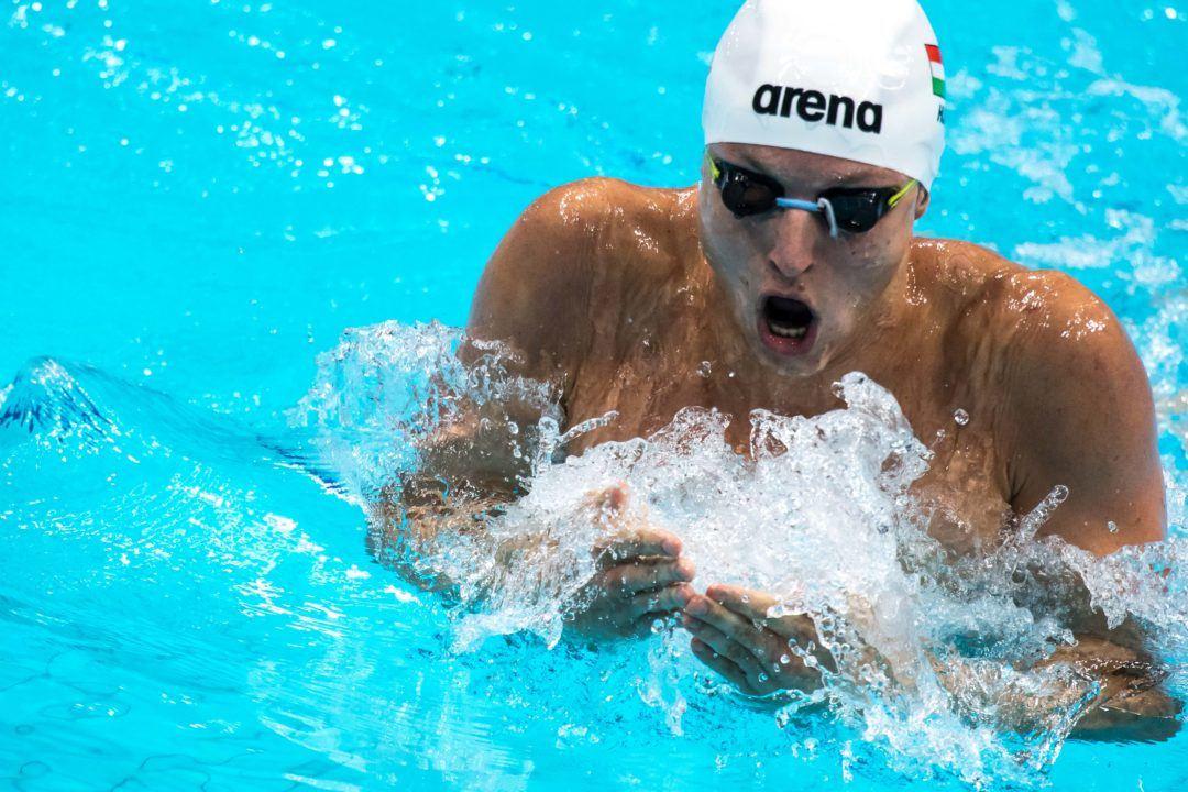 4IM Silver Medalist David Verraszto Tastes Silver, Wants Gold