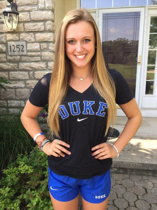 Juniors Qualifier Rachel Peroni Gives Verbal Commitment to Duke