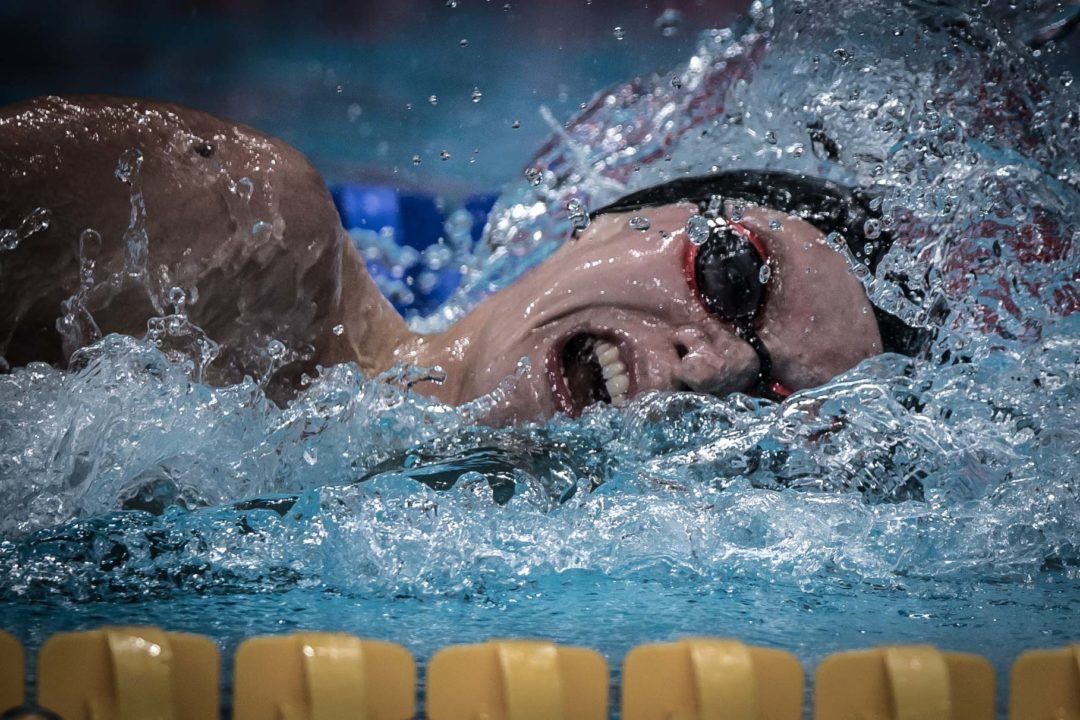 Watch Duncan Scott Rip 47.87 100 FR, Take Down British Record