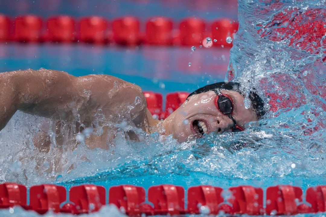 Adam Peaty Swims 2:14 in 200 Breaststroke Prelims at McCullagh International