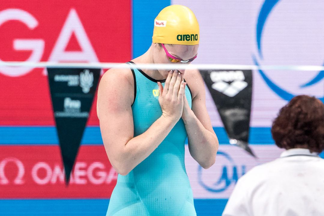 Emily Seebohm Dealt With Food Poisoning Prior To FINA Champions Series