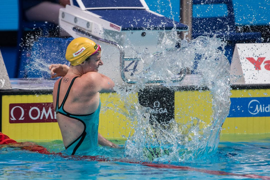 2017 Swammy Awards: Oceania Female Swimmer Of The Year Emily Seebohm