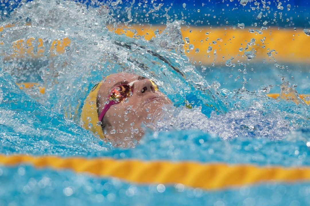 Young McKeown Takes Women's 200 Back Over Seebohm At Vic Open