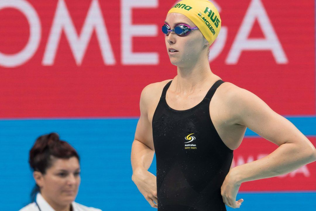 McKeon Breaks Australian Medal Mark at World Championships