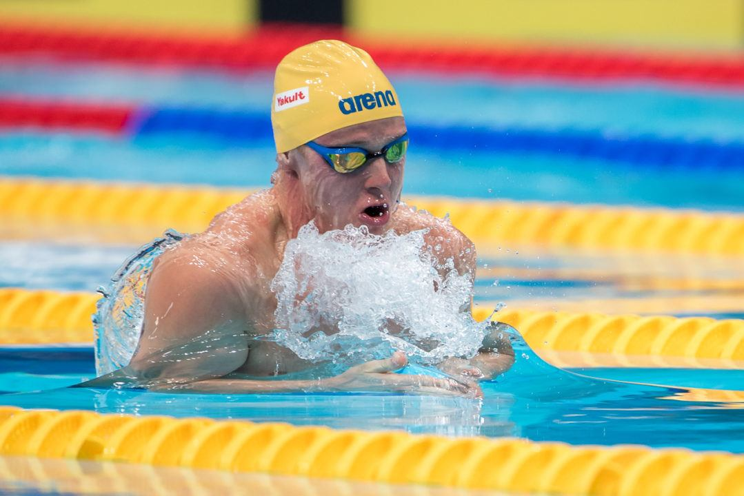 Erik Persson Hits 2:04 SCM 200 Breast at Swedish Nationals Day 1