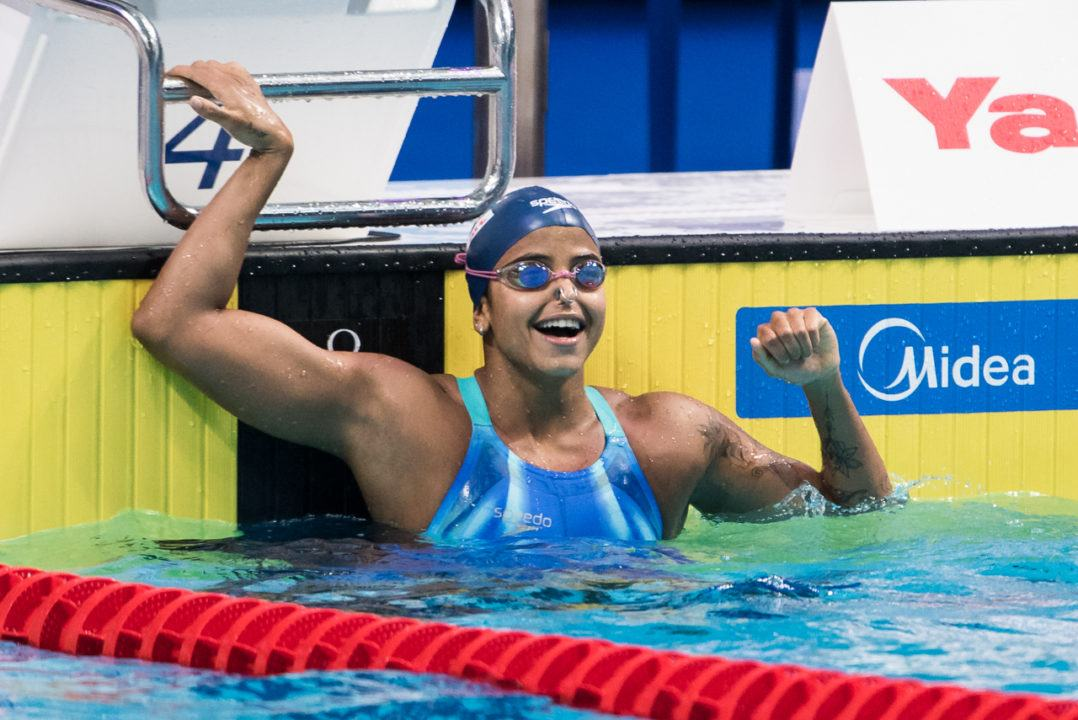 50 Back WR Holder Medeiros Shifts Focus to Sprint Free for Tokyo