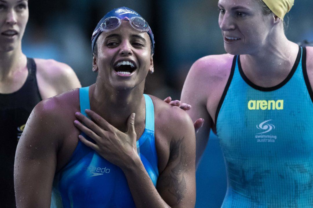 2017 Swammy Awards: South American Female Swimmer of the Year