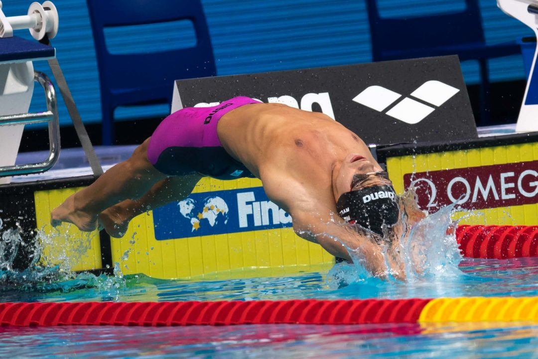 2018 Euros: Russian Men To Slug It Out In 100 Back Prelims On Day 3