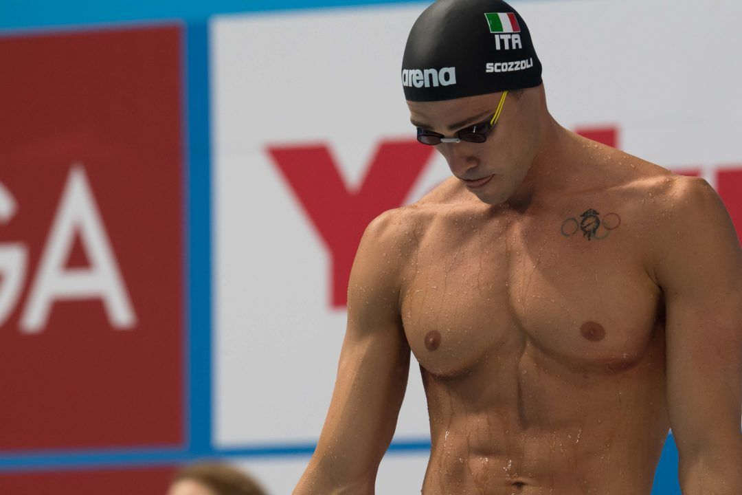 Scozzoli sets a new championship record at European SC Championships