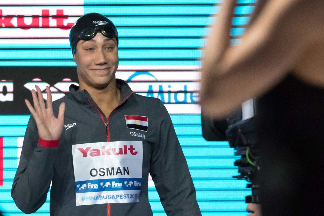 Farida Osman Advances To 50 Free Semis With African Record