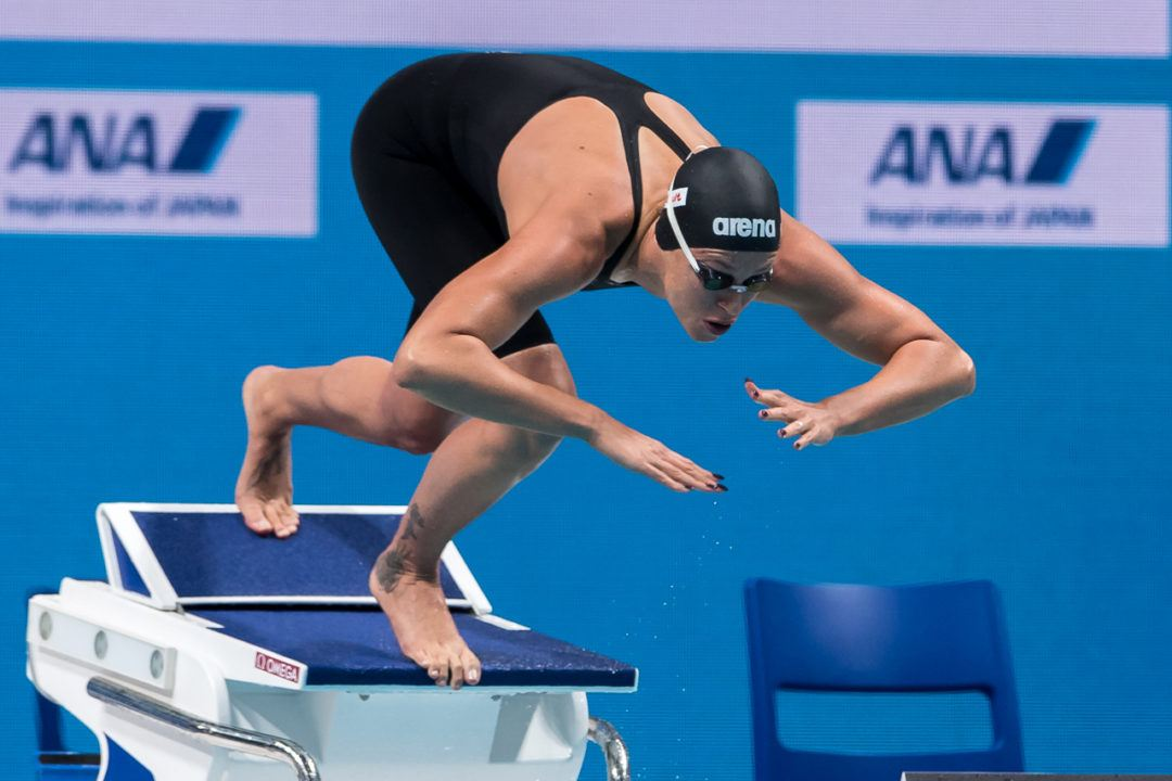 Sjostrom, Pellegrini, Le Clos, Murphy & More Take To Energy For Swim!