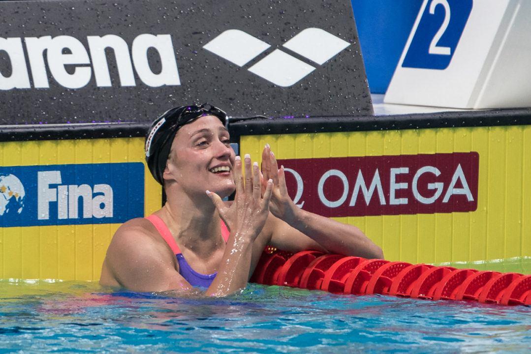 Mireia Belmonte, fuera de las finales el primer día del mundial de Gwangju