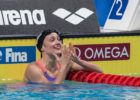 Back Half Mastery: Watch Mireia Belmonte's 4:18.94 Short Course 400 IM