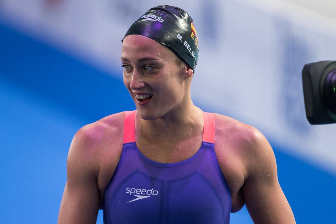 "Mireia Belmonte ""Probably"" Out of Short Course Spanish Championships"