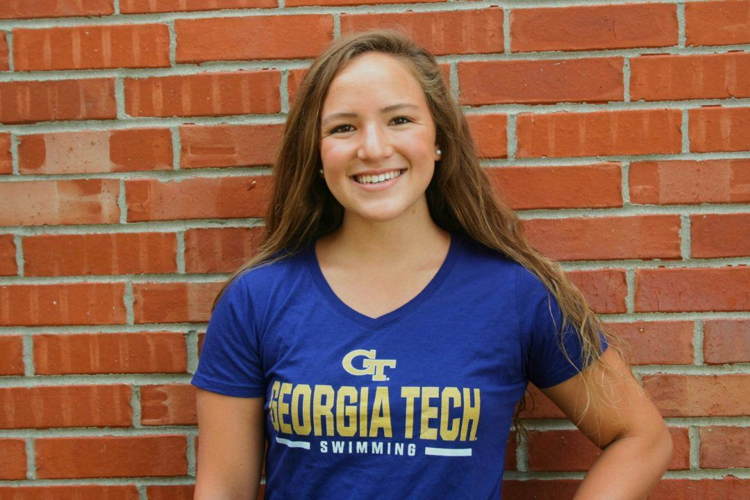 1:01/2:14 Breaststroker Nicole Williams Verbally Commits to Georgia Tech