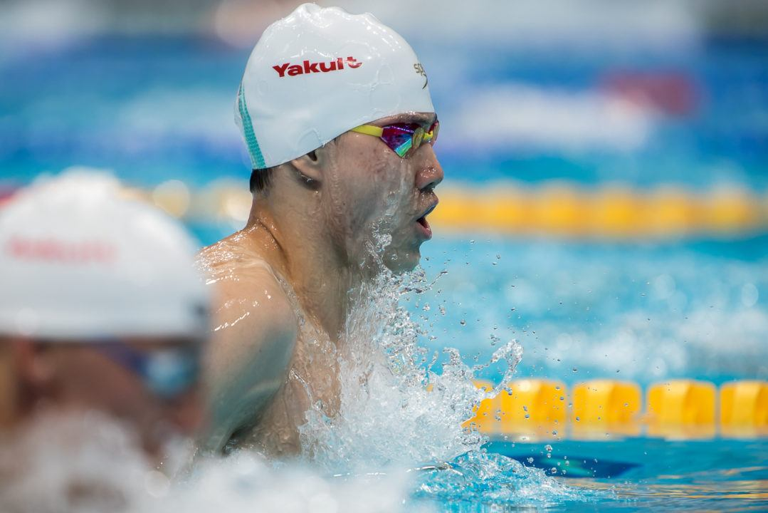 Qin Haiyang Breaks Asian Record, Now #4 All-Time In 200 Breast