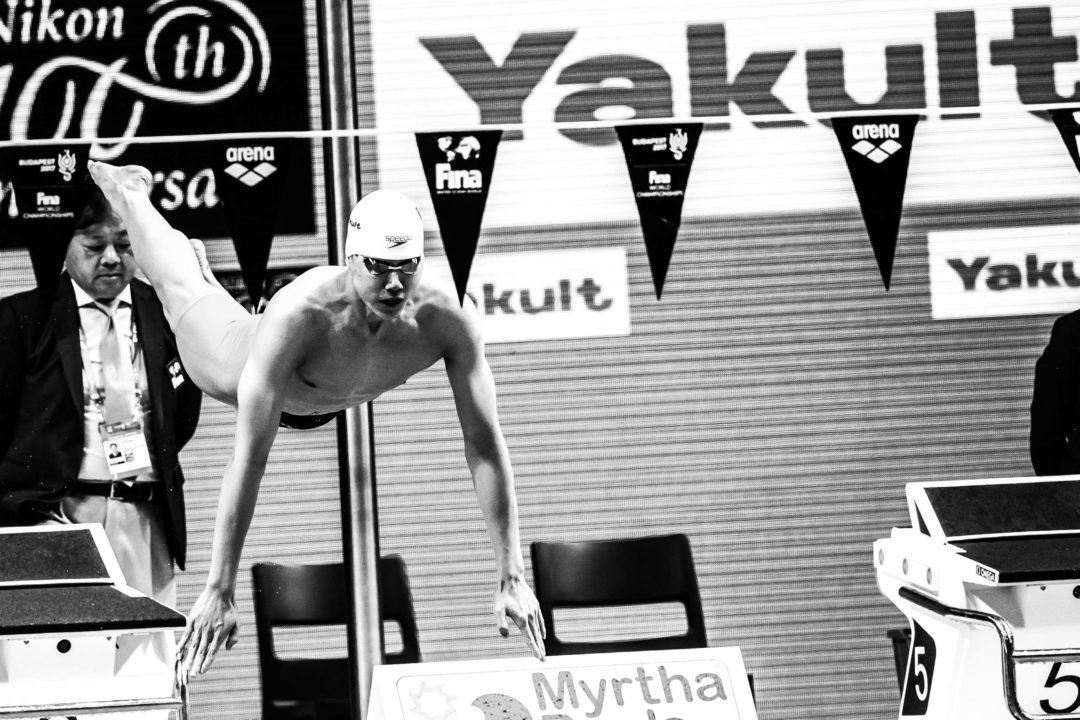 Qin Haiyang Smashes Chinese Record, Moves To #7 All-Time In 200 BR