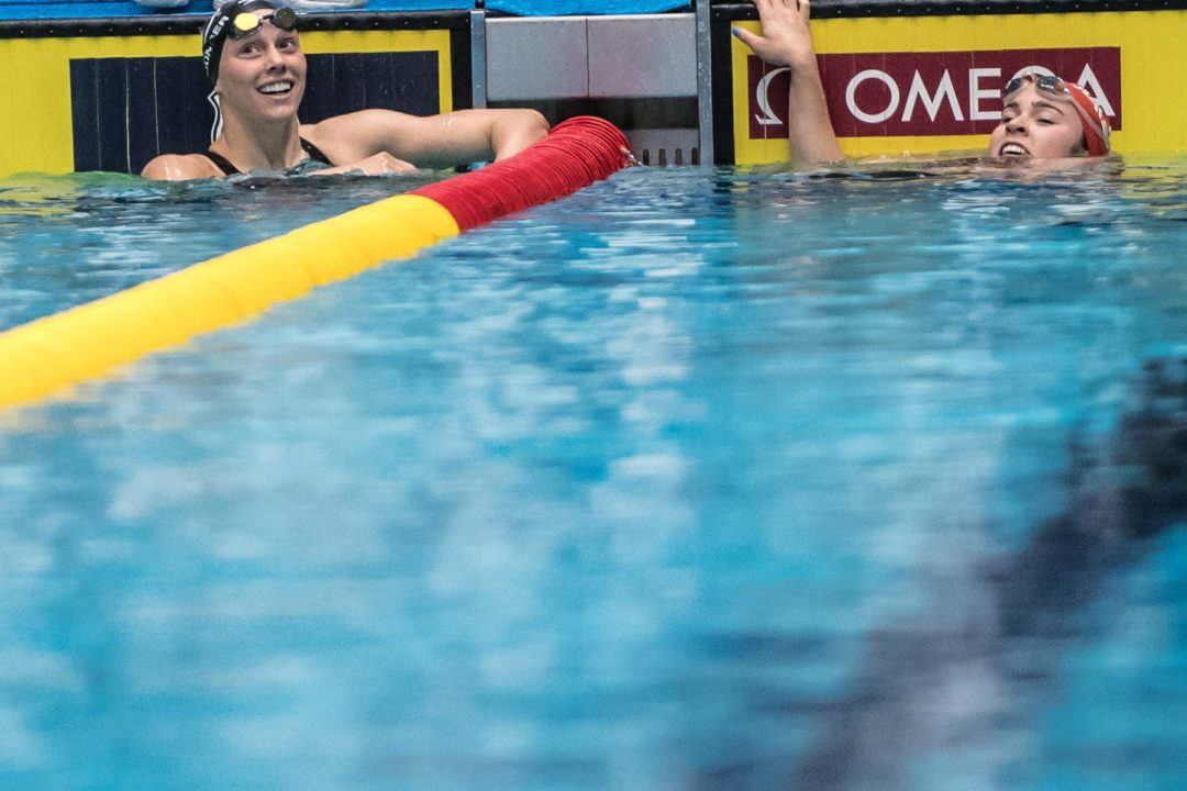 Dakota Luther Erases Felicia Lee's Jr National Meet Record in 100 Fly