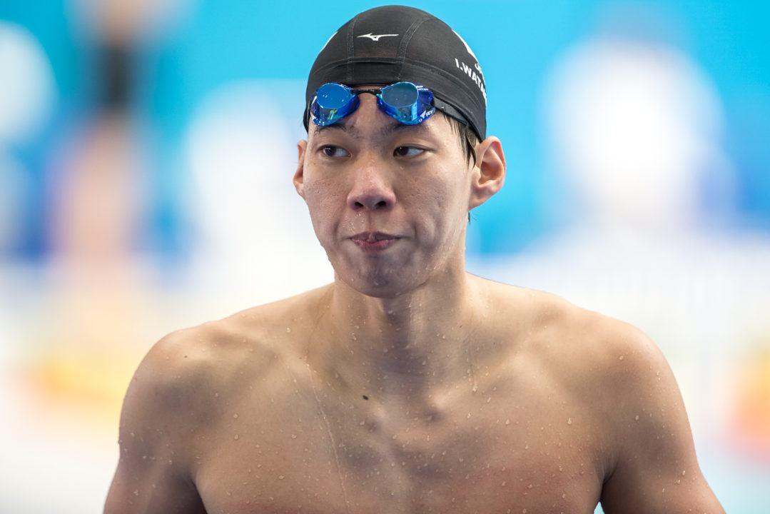Ippei Watanabe To Enter Professional Swimming Ranks