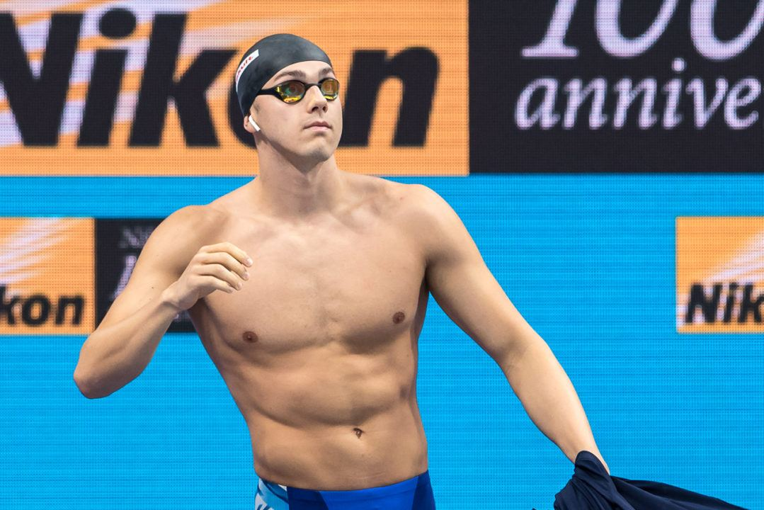 James Guy Warms Up With 200 Fly Win In Edinburgh