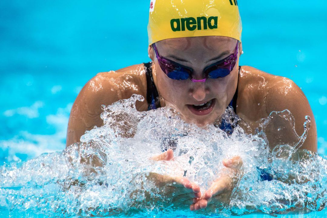 Hansen Breaks Into Breaststroke World Rankings To Start 2019 Vic Open