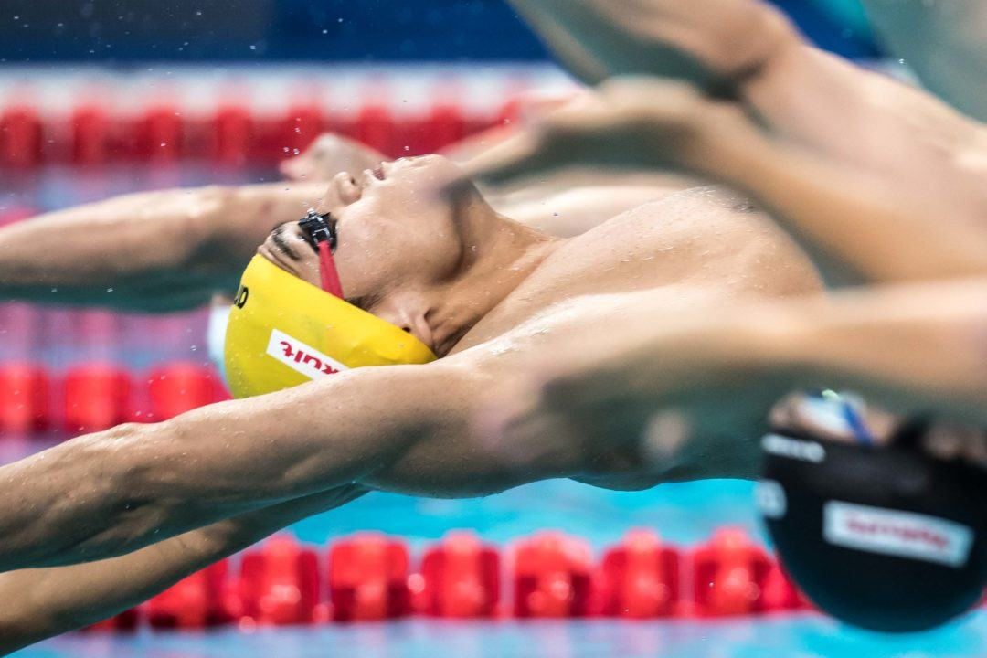 World Cup Tokyo: Xu Jiayu Lowers Own Chinese NR in 200 Back