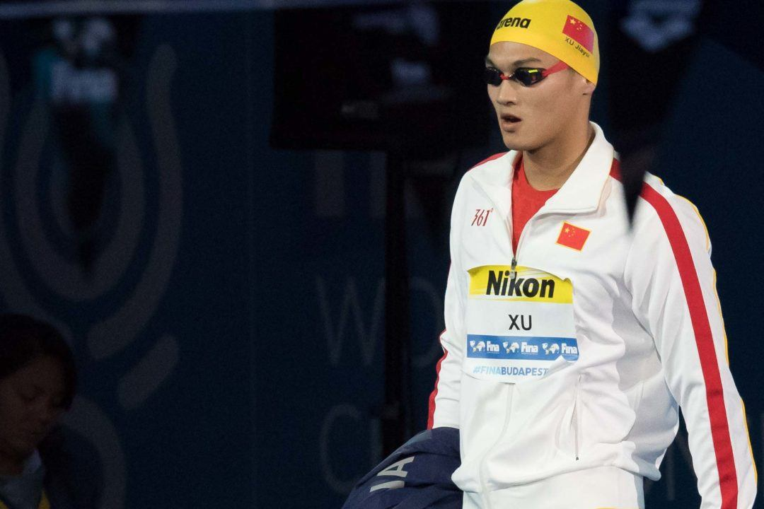 ASIA: Xu's 200 Back Scratch May Have Caused China to Miss out on a Medal