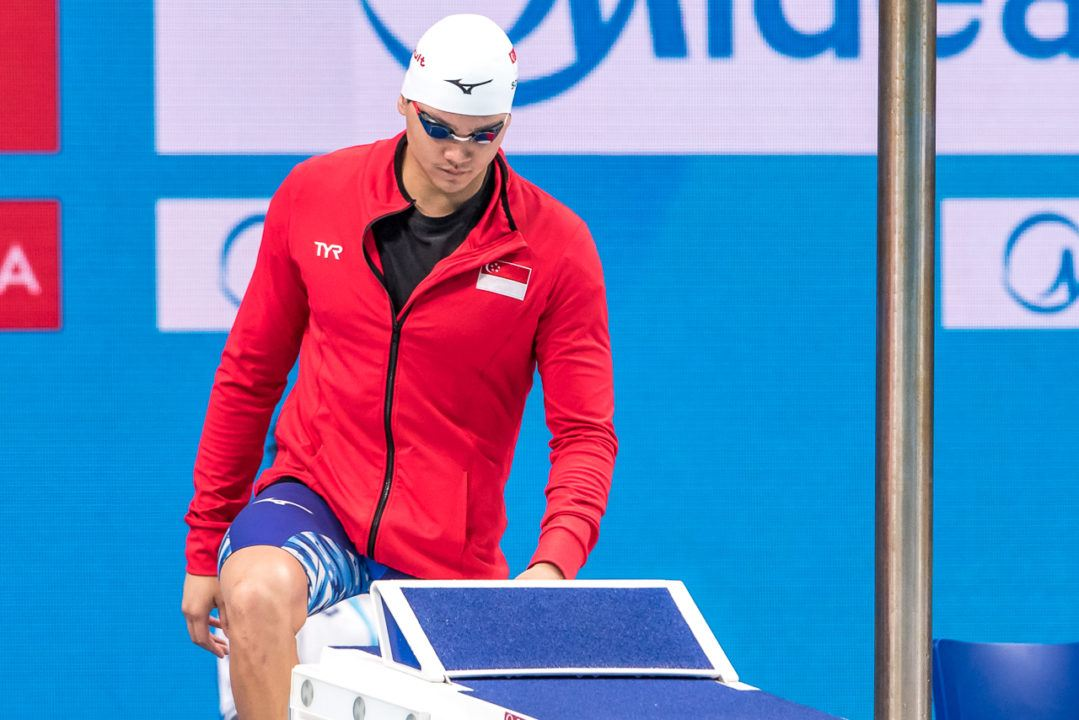 Schooling Settles For Bronze On Night 3 Of Singapore Nationals