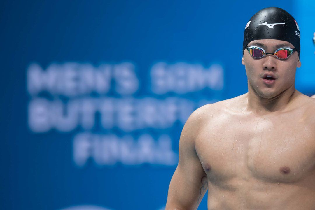 Schooling Bows Out Of 50 Free On Final Night Of Singapore Nats