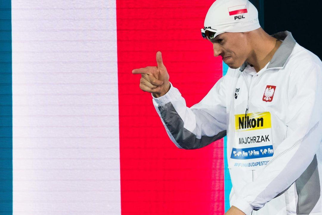 Majchrzak Nails 1:47.3 200 Free While Wilk Collects 2nd Polish Record