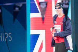Kathleen Dawson derriba el récord británico en 50 espalda con 27.19