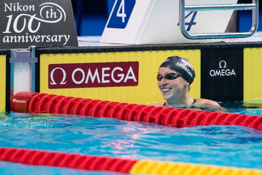Beyond The Lane Lines: Ledecky Gets Licensed & See New Airport Pool