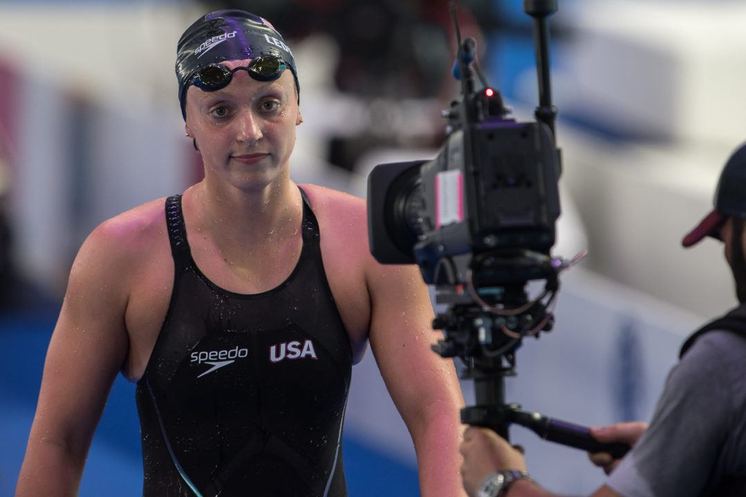 Katie Ledecky Says No to Open Water