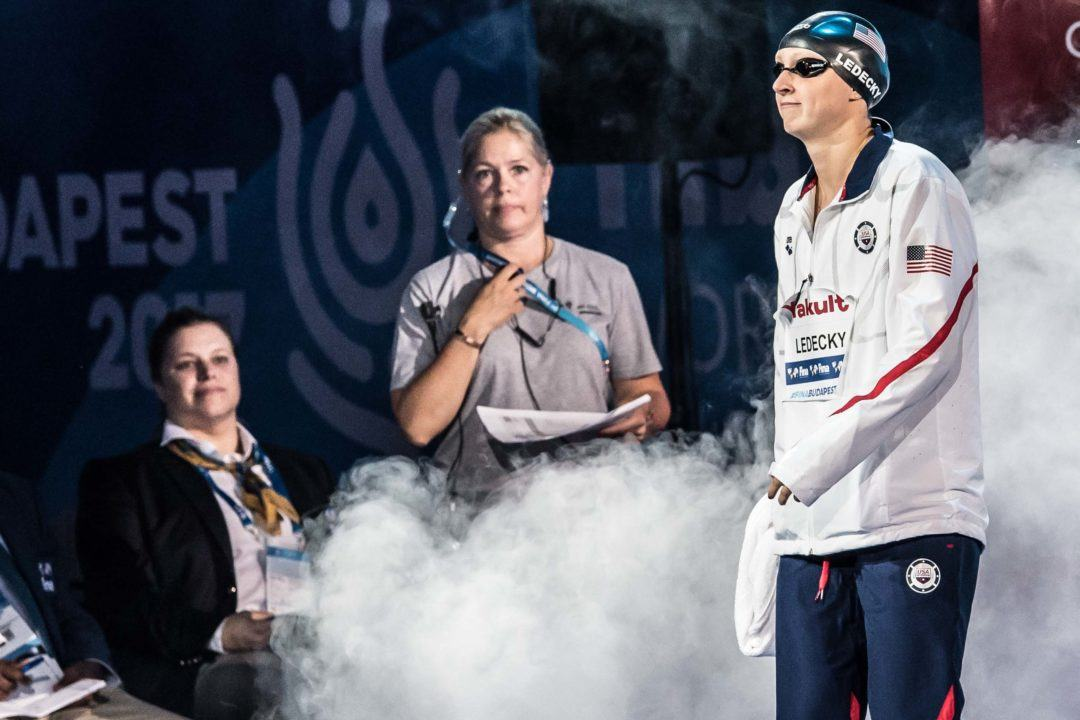 Swimming's TopTenTweets: Ledecky Sets the Curve