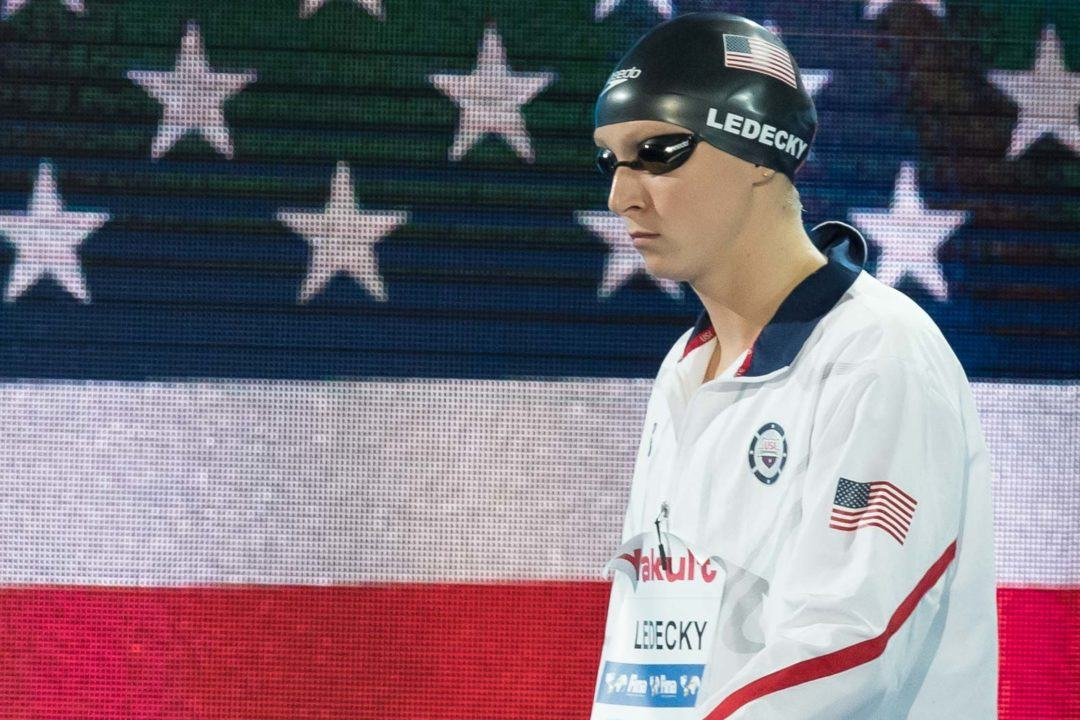 Ledecky's Dozen: Passes Missy For Most World Champs Golds In History