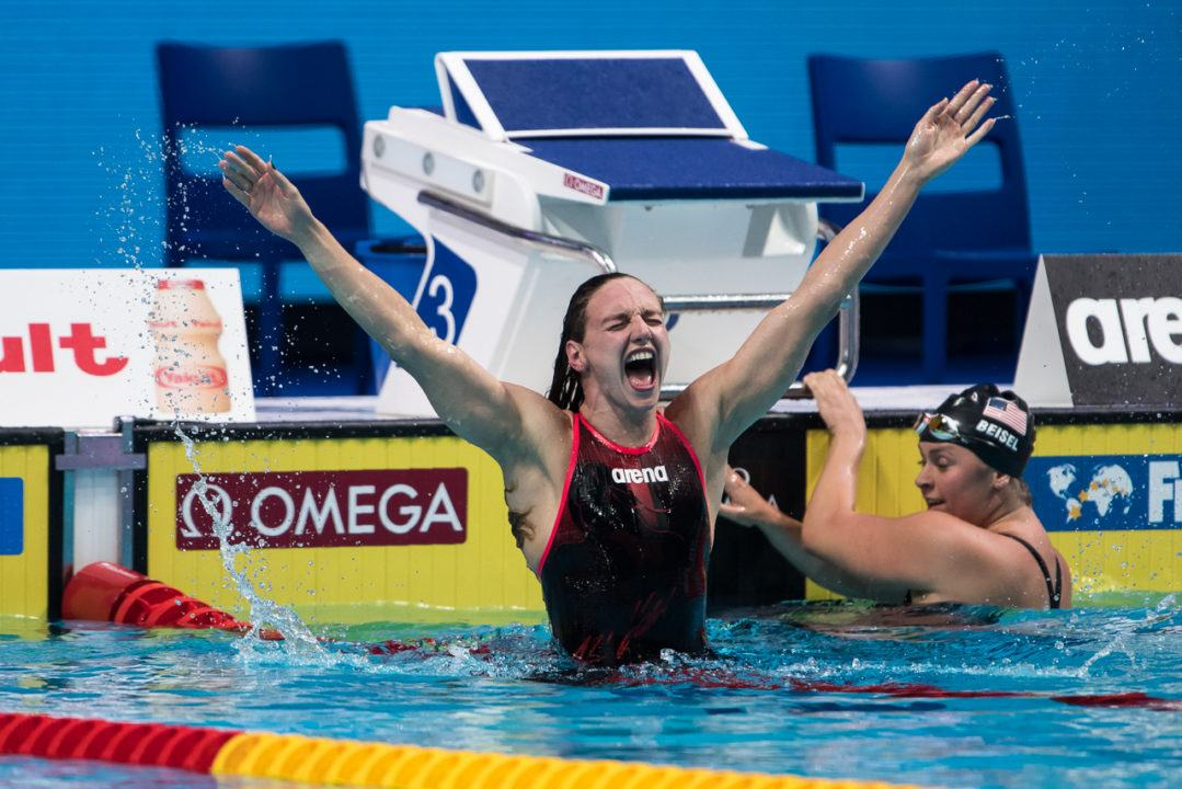 Katinka Hosszu Breaks CR, Wins 400 IM in Front of Adoring Budapest Crowd (Race Video)