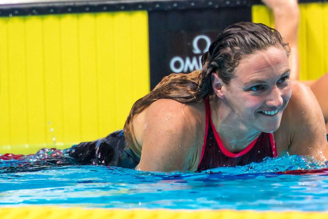 FINA World Cup Singapore: Hosszu Hunting Sjostrom