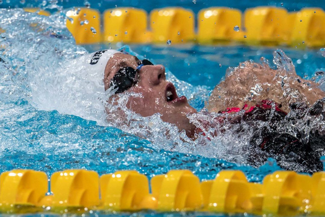 Hosszu Tops 100 IM, 200 Fly Fields At Budapest World Cup Day 1 Prelims