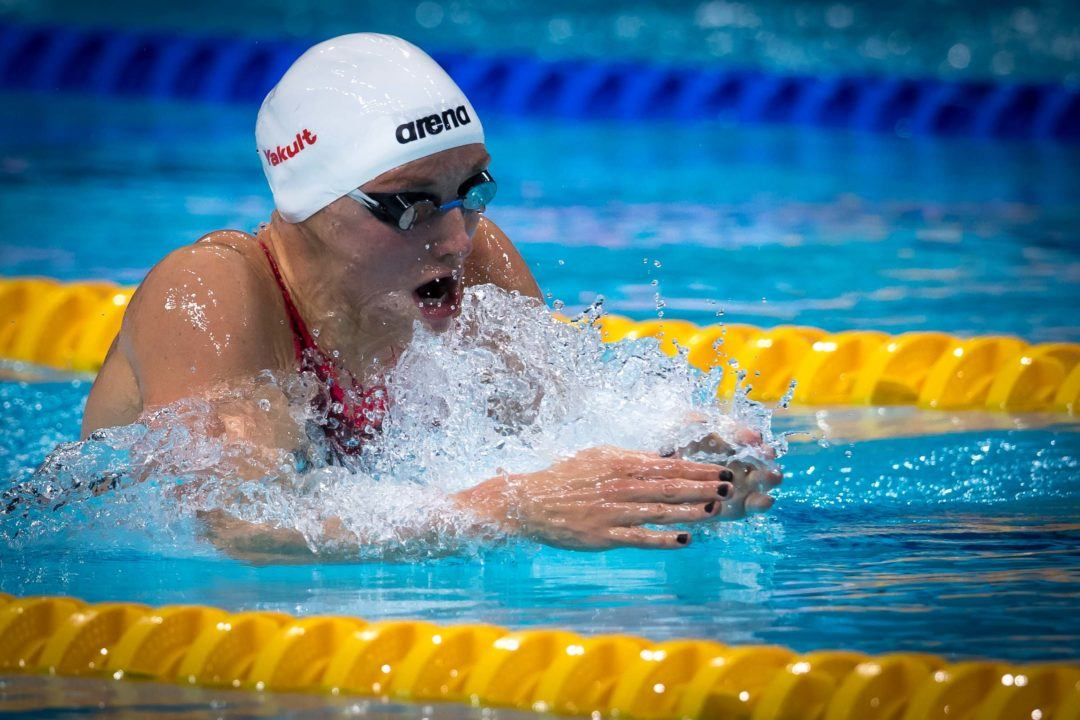 Katinka Hosszu In Command at Hong Kong World Cup Day 1 Prelims