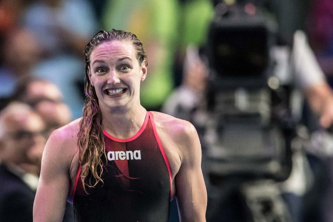 Katinka Hosszu Thrilled With Hungarian 50 Back Record (Day 4 Quotes)