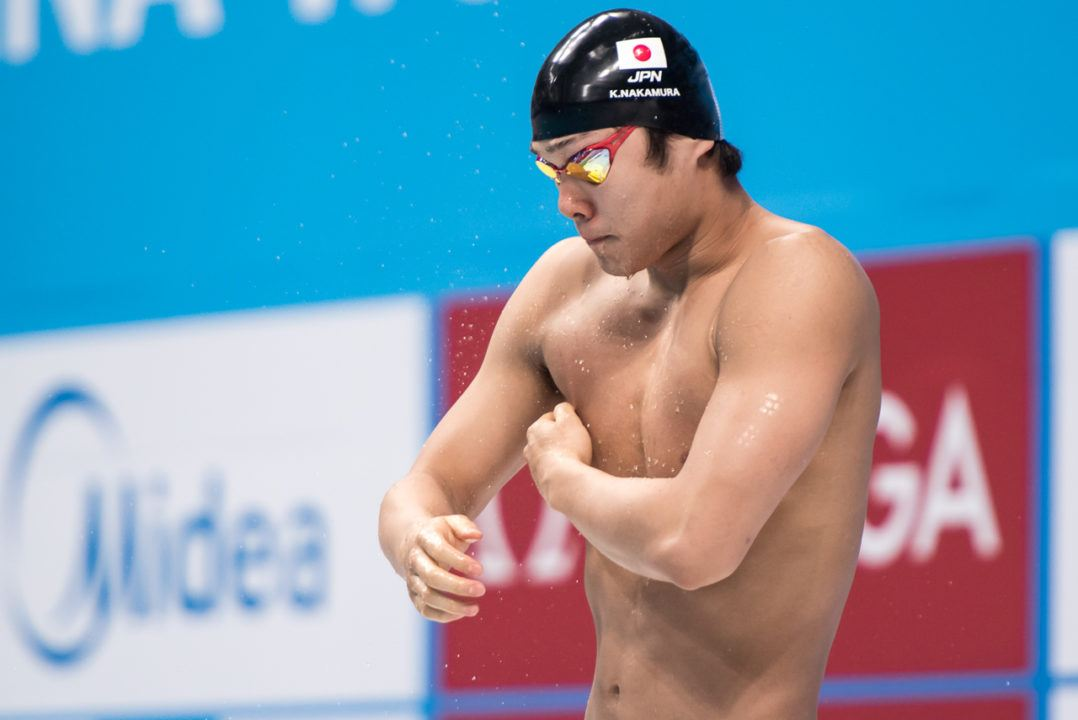 After Ikee's 200 Free NR, Nakamura Fires Off Another Sub-22