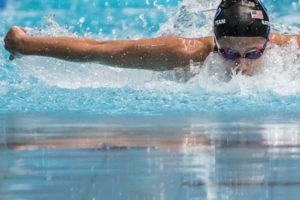 Texas Rookie Kelly Pash Enters 200 FR/FL, Set to Swim All Five Longhorn Relays